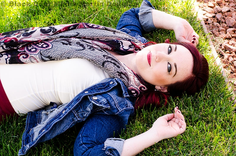 Jenny Squires during her fall photo shoot with Martin Douglas photo 8