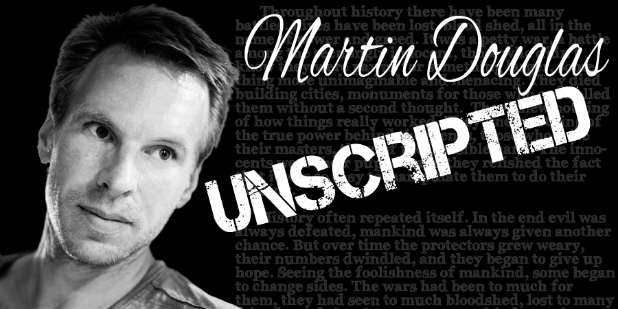 Martin Douglas - Actor, Author, and Filmmaker. Writer of The Bewitching Book Series