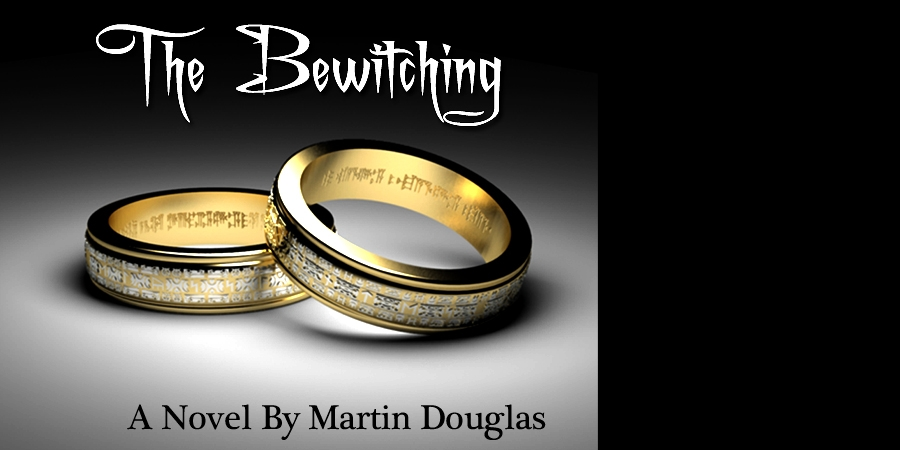 The Bewitching Novels. A series of books by author and writer Martin Douglas